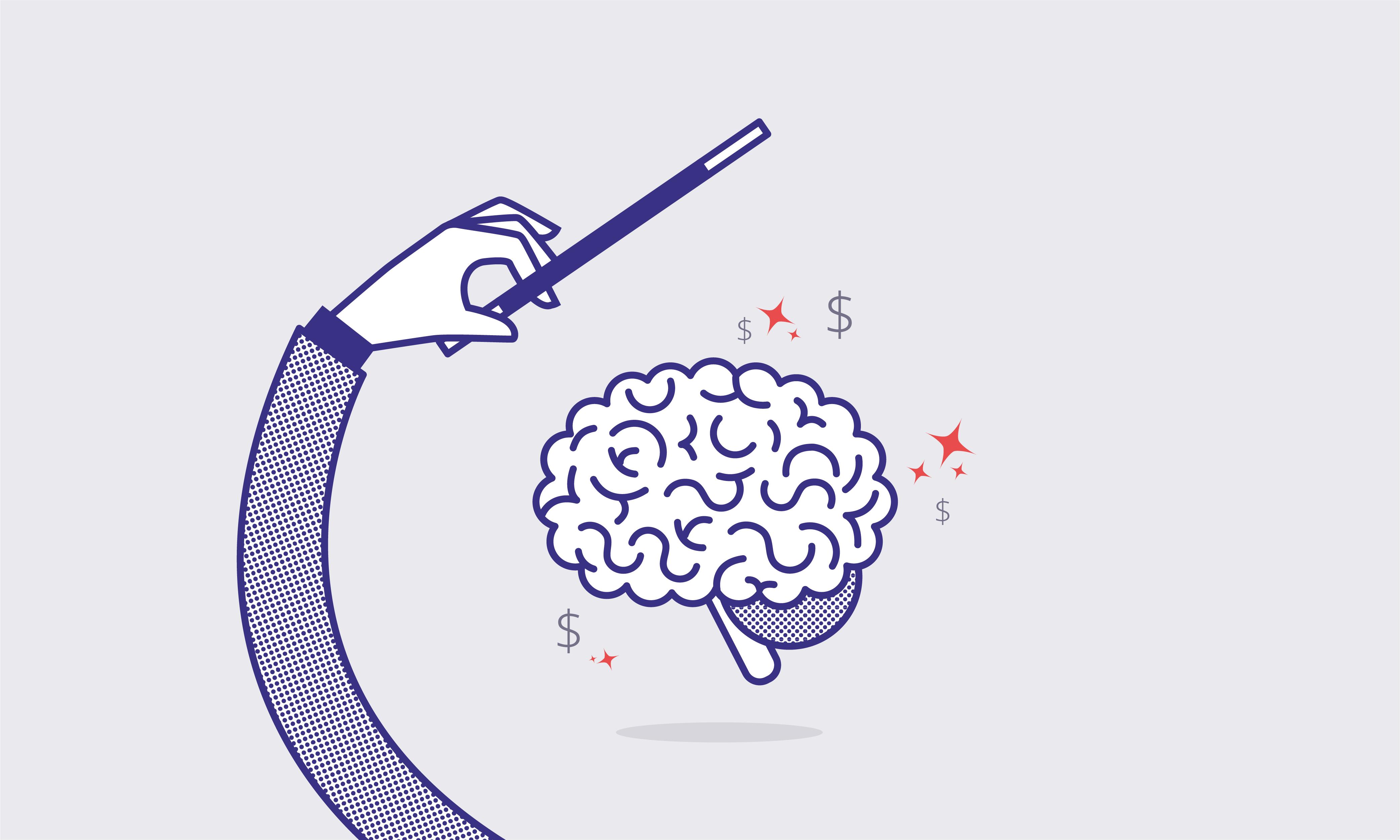 Sådan narrer du din hjerne til at spare mere op