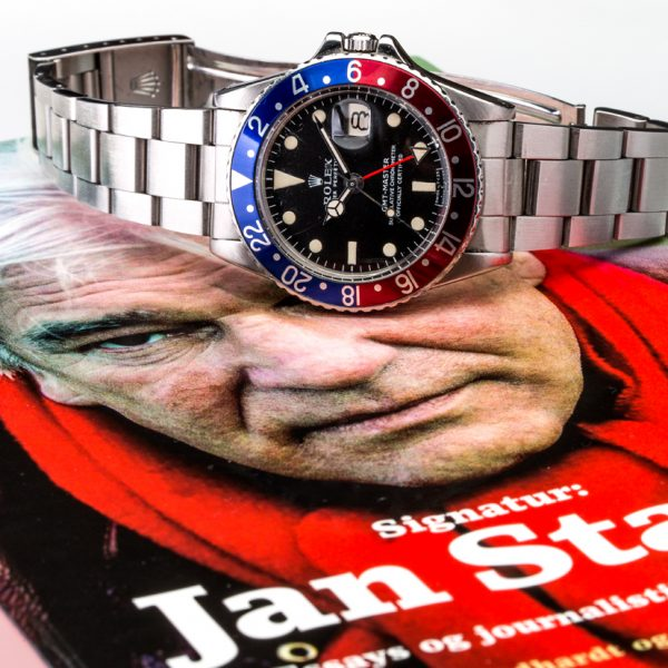 Jan Stages Rolex GMT Master fra 1968