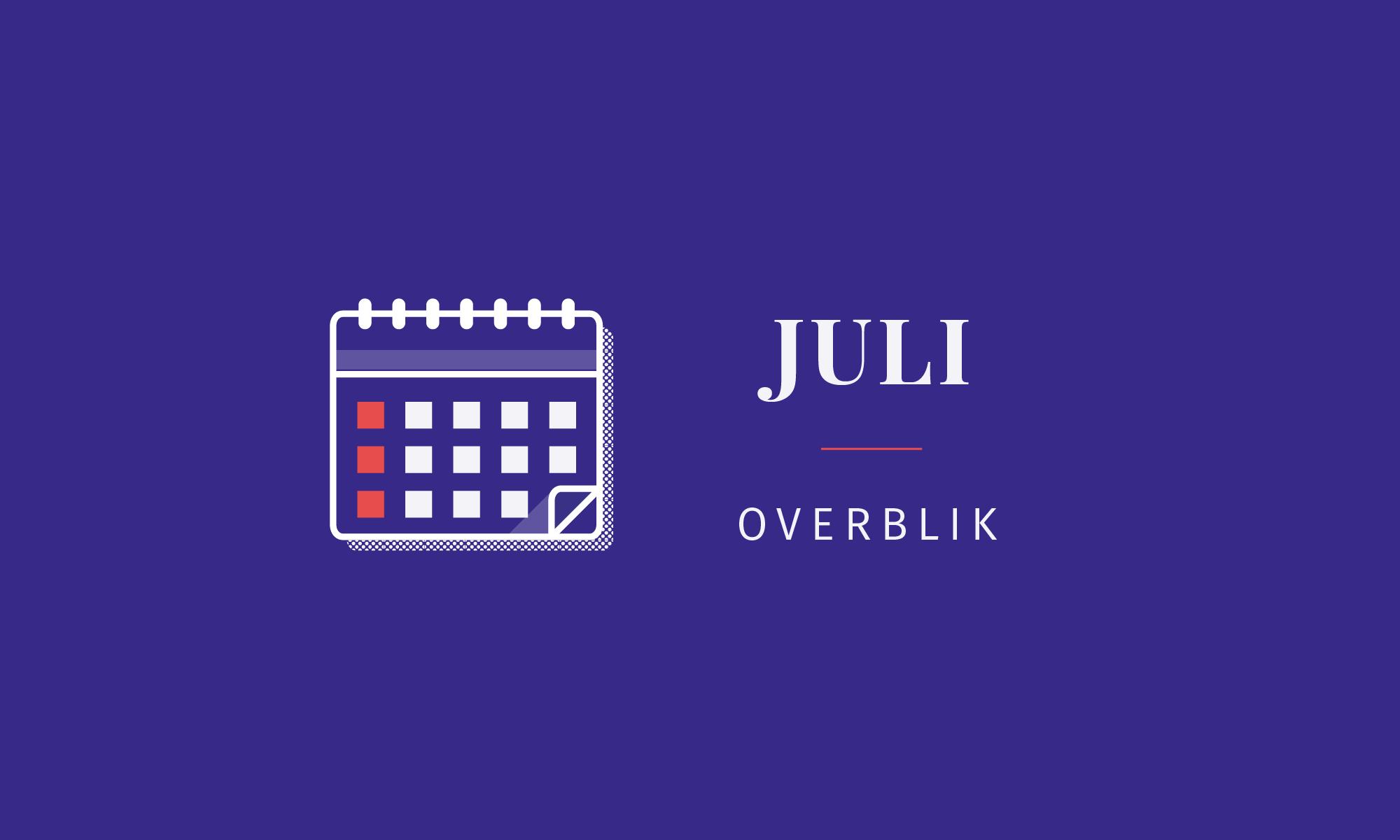 Overblik: Junes fonde i juli